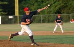 Adam pitching for the Generals in 2008