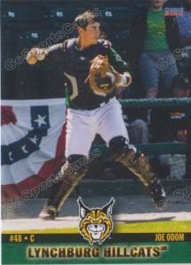 Joseph Odom Lynchburg baseball card 2014