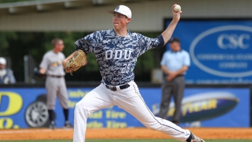 Ryan Yarbrough Old Dominion pitching