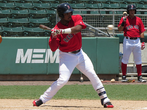 Kyri Washington Gulf Coast League 2015 swinging