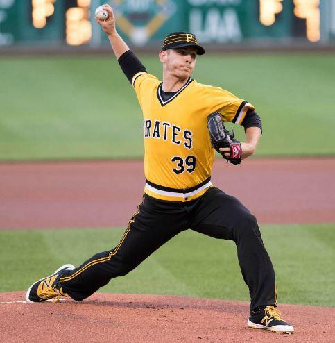 Chad Kuhl 06_26_2016 MLB Debut