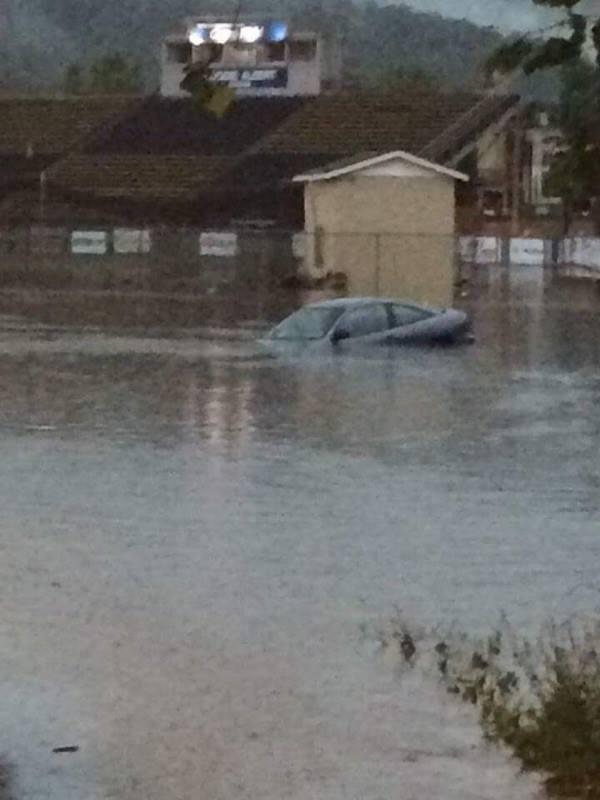 Covington flooding June 2016