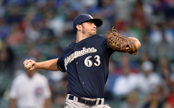 Tyler Thornburg Milwaukee Brewers