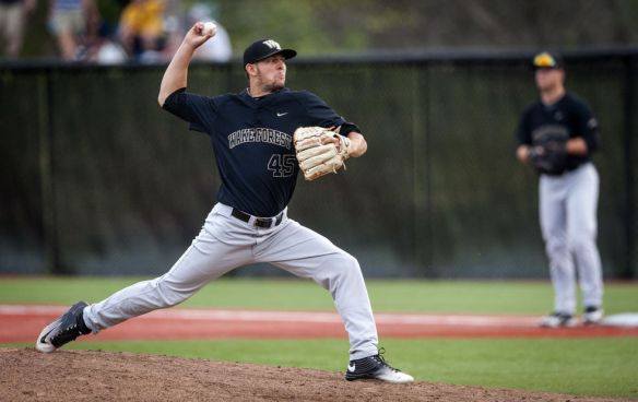 john-mccarren-wake-forest-pitching
