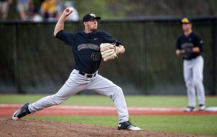 john-mccarren-wake-forest-pitching