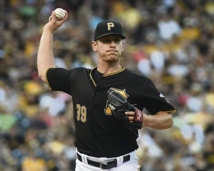 Chad Kuhl in the majors in 2016