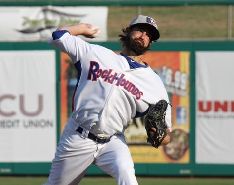 Drew Granier in Double-A... and an awesome beard