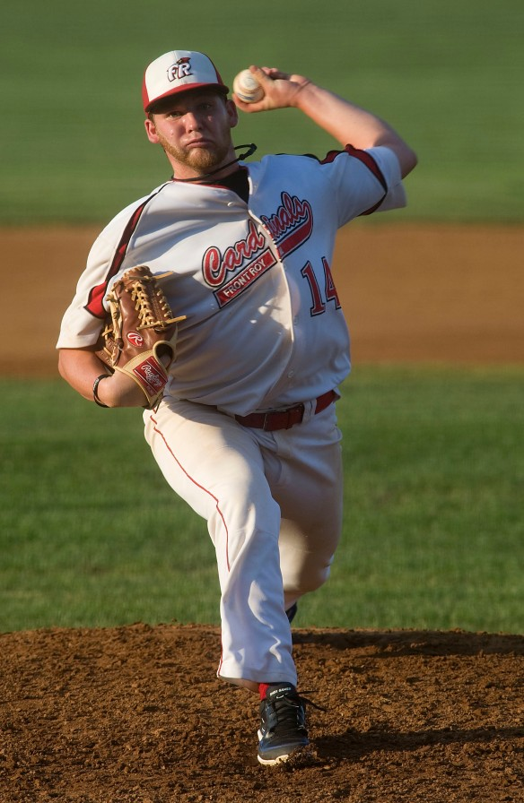 Front Royal Cardinal's pitcher Jordan DeLorenzo Rich Cooley/Daily