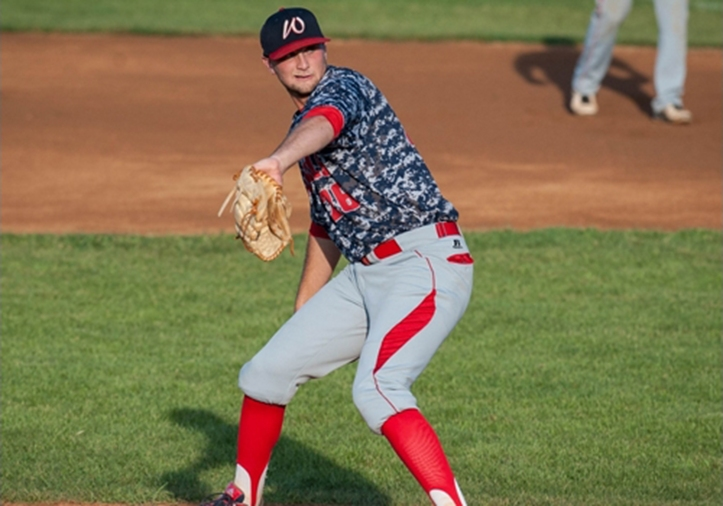Vince Braman fires a pitch for the Generals in 2016