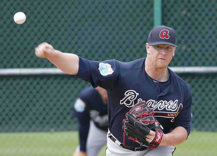 David Carpenter in 2016 Spring Training