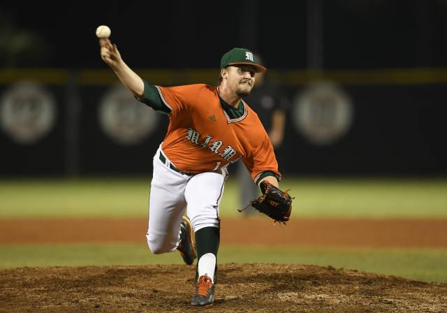 Mason Studstill Miami 2017 throwing