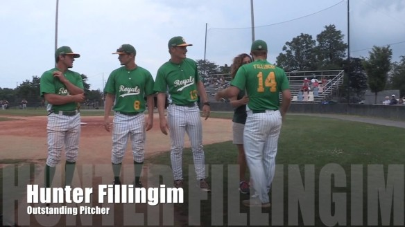 Hunter Fillingim Outstanding Pitcher Winchester