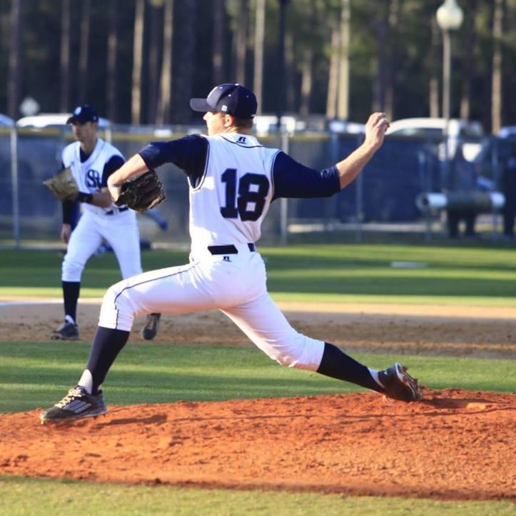 Dalton Whitaker pitching