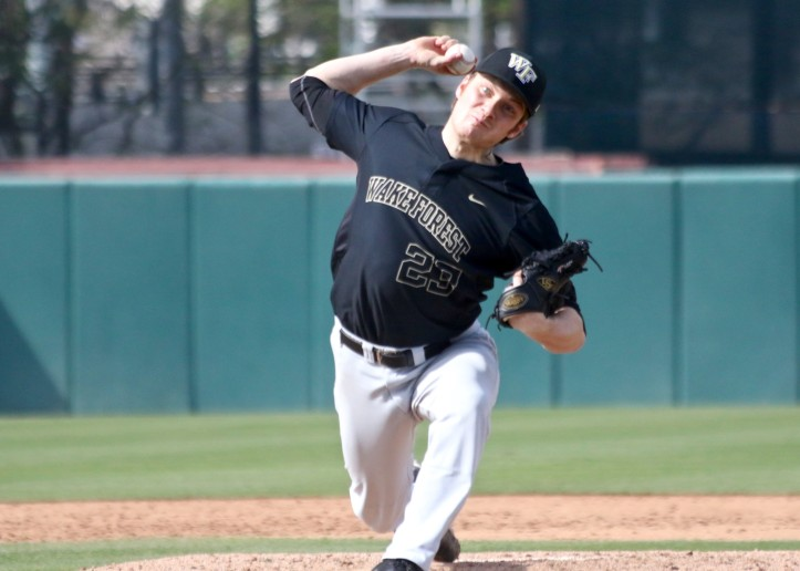Drew Loepprich Wake Forest pitching