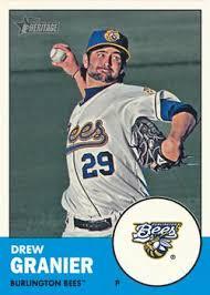 Drew Granier bball card