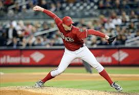 Brad Ziegler pitching