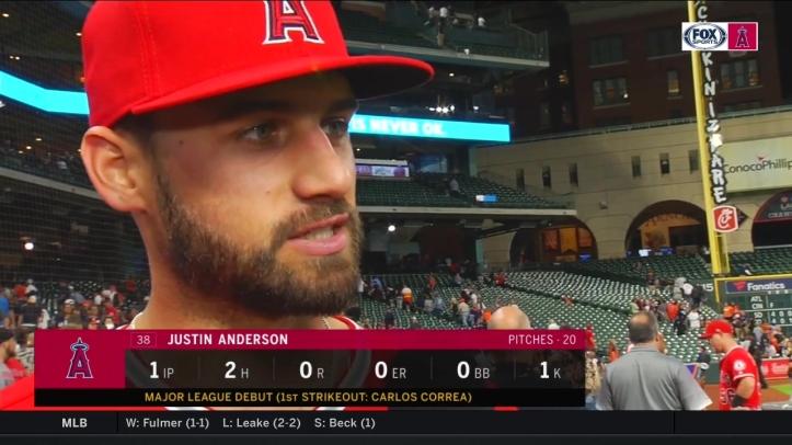 Justin Anderson Debut April 23 2018