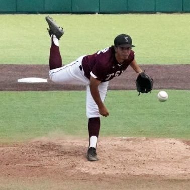 Aron Solis pitching Texas Southern 2018
