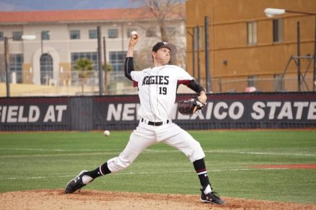 Chance Hroch New Mexico State pitching