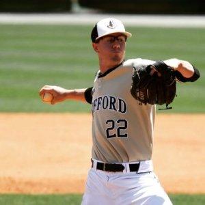 Jake Hershman Wofford pitching