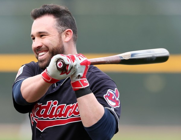 Jason Kipnis with bat