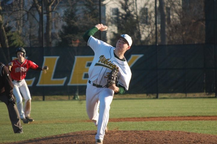Justin Ager Loudoun Valley pitching