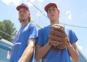 Bailey Hall (left) and Showalter
