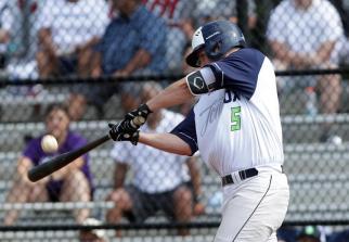 Kirby McMullen hitting Charlottesville 2018