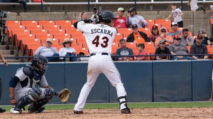 JC Escarra Aberdeen 2018 hitting