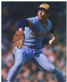 Mike Caldwell Milw Brewers