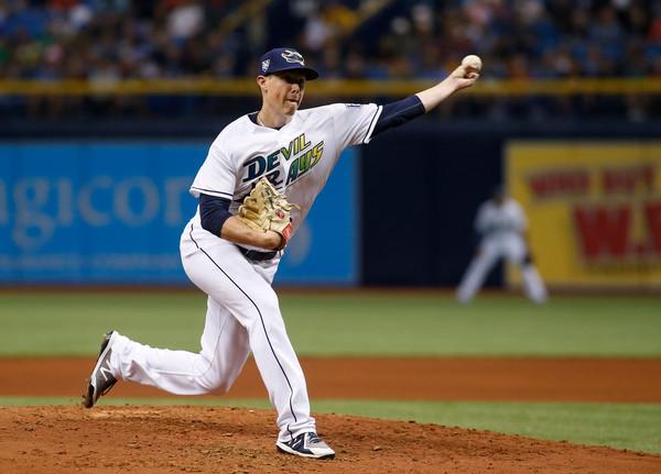 Ryan Yarbrough pitching 2018