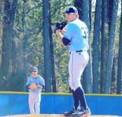 Trevin Eubanks JC pitching