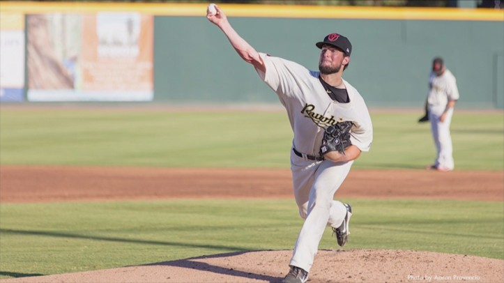 Sam Lewis Visalia pitching
