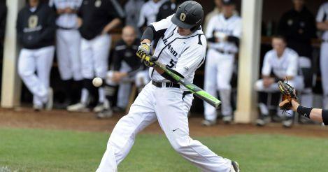 Zach Sterry Oakland swinging