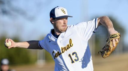 Dylan Hall Central Oklahoma pitching