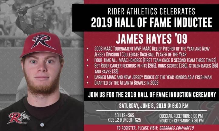 James Hayes Rider HOF