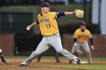 Austin Koehn UNC Greensboro pitching 2
