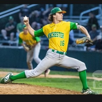 Logan Walters Winchester pitching 2019