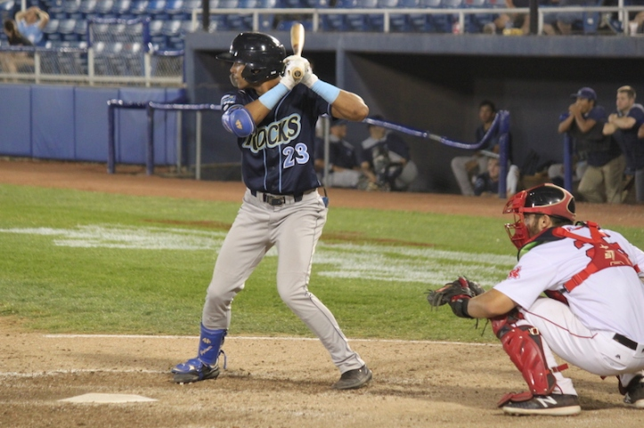 Michael Gigliotti batting Sept 2019