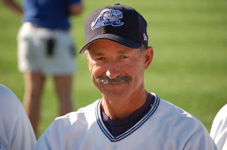 Tom Brookens when he was managing in the minors